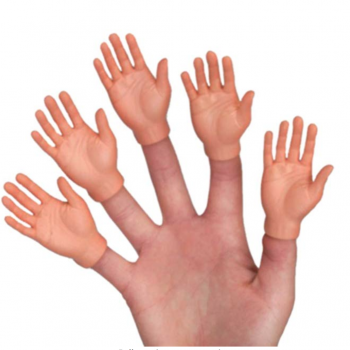 novelty finger hands gift