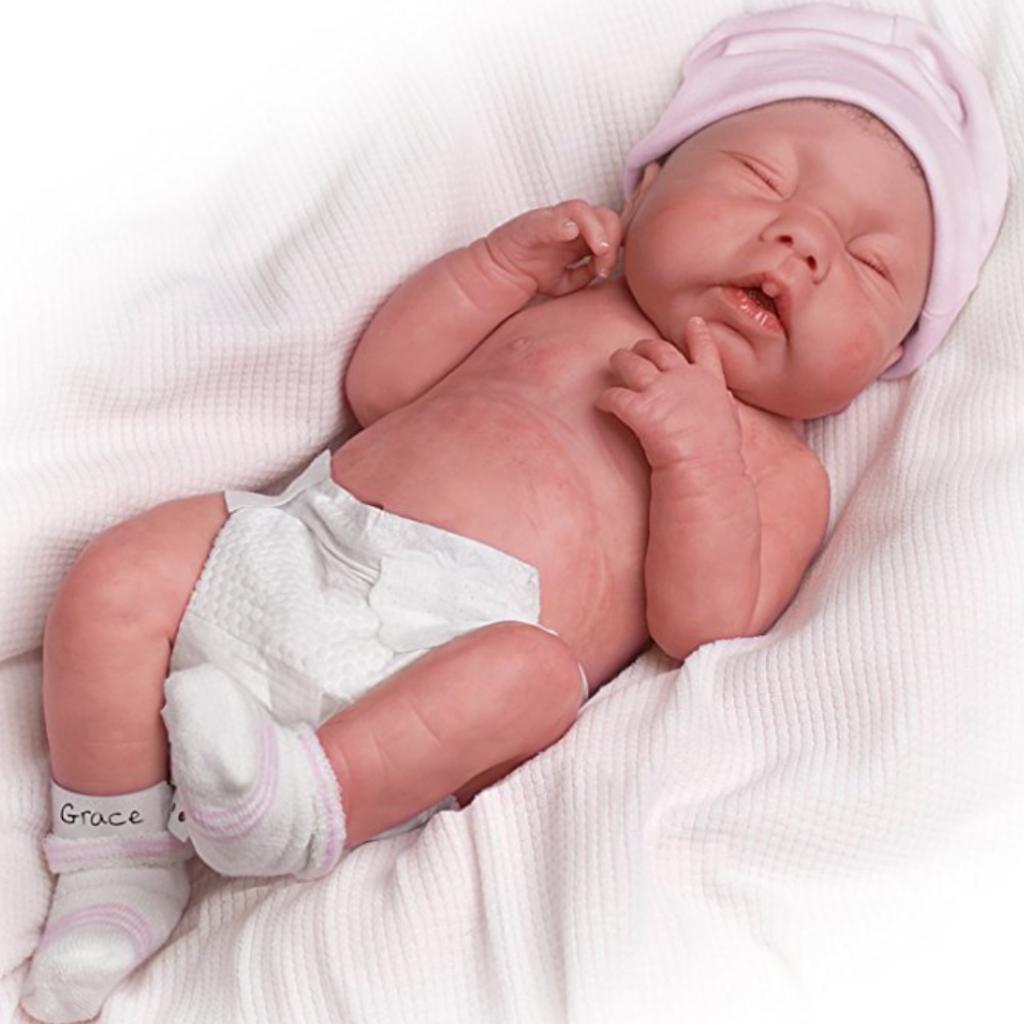 Realistic Newborn Baby Doll
