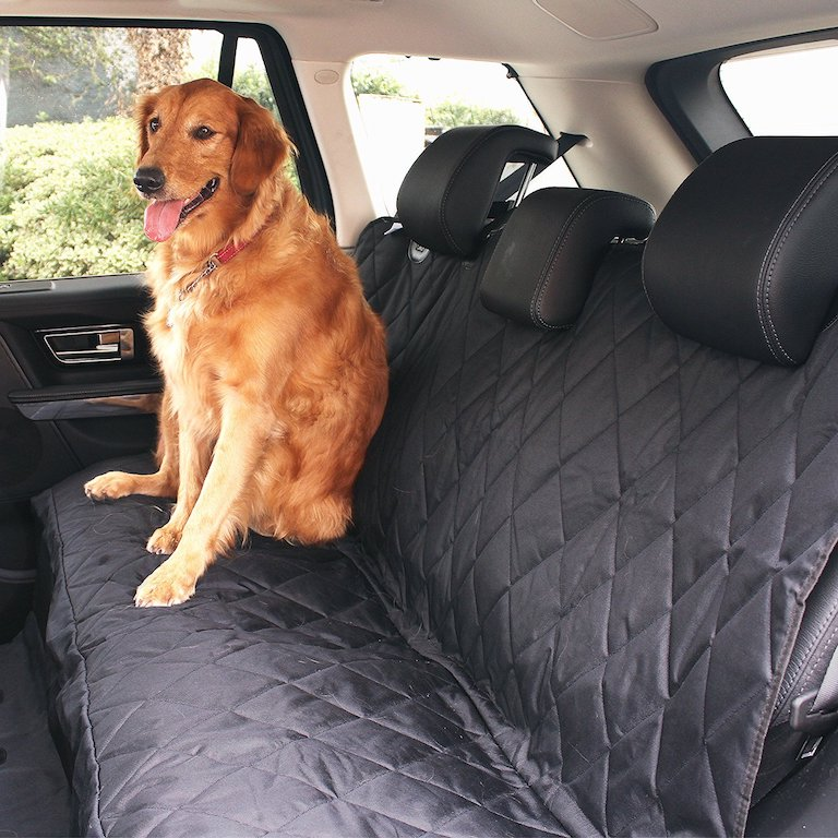 Waterproof seat protector for dogs