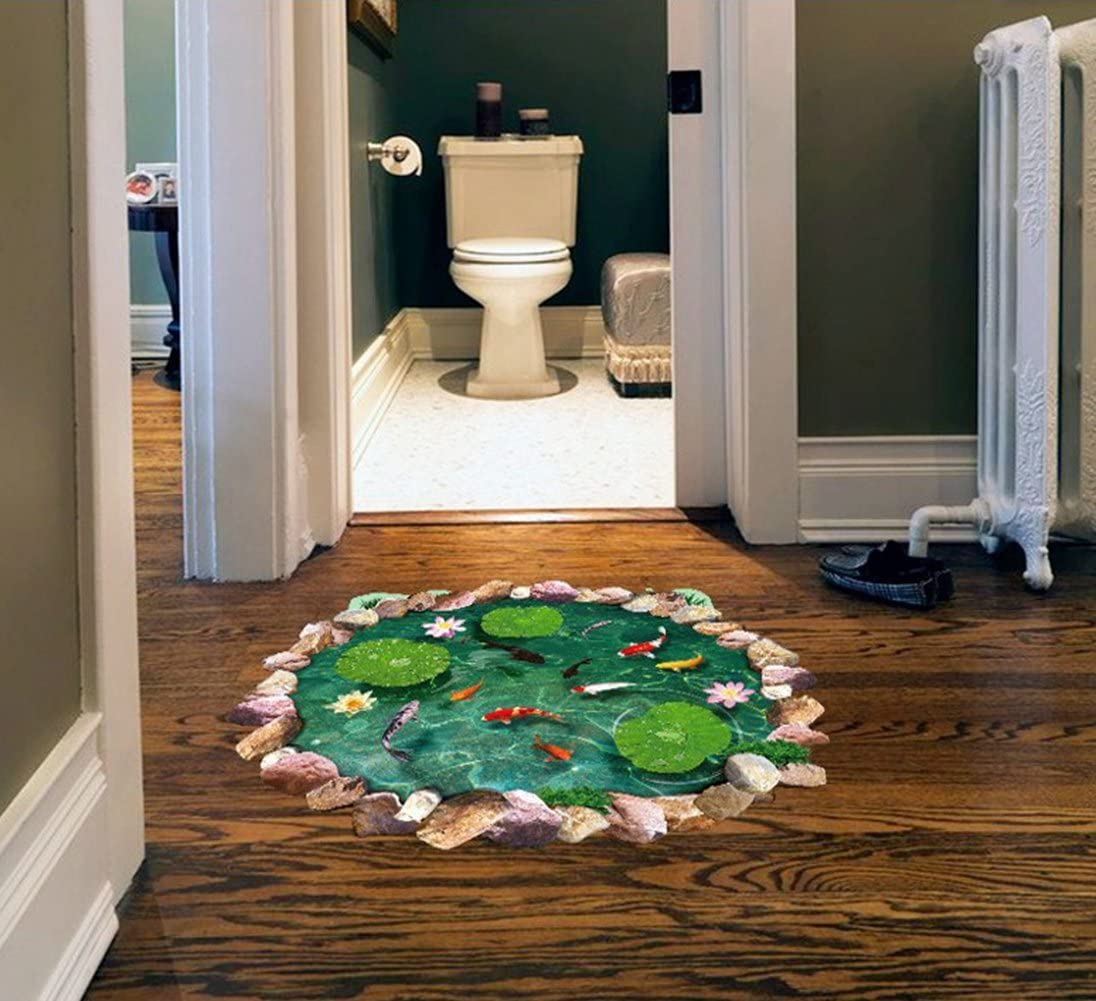 3d wall decals for the floor