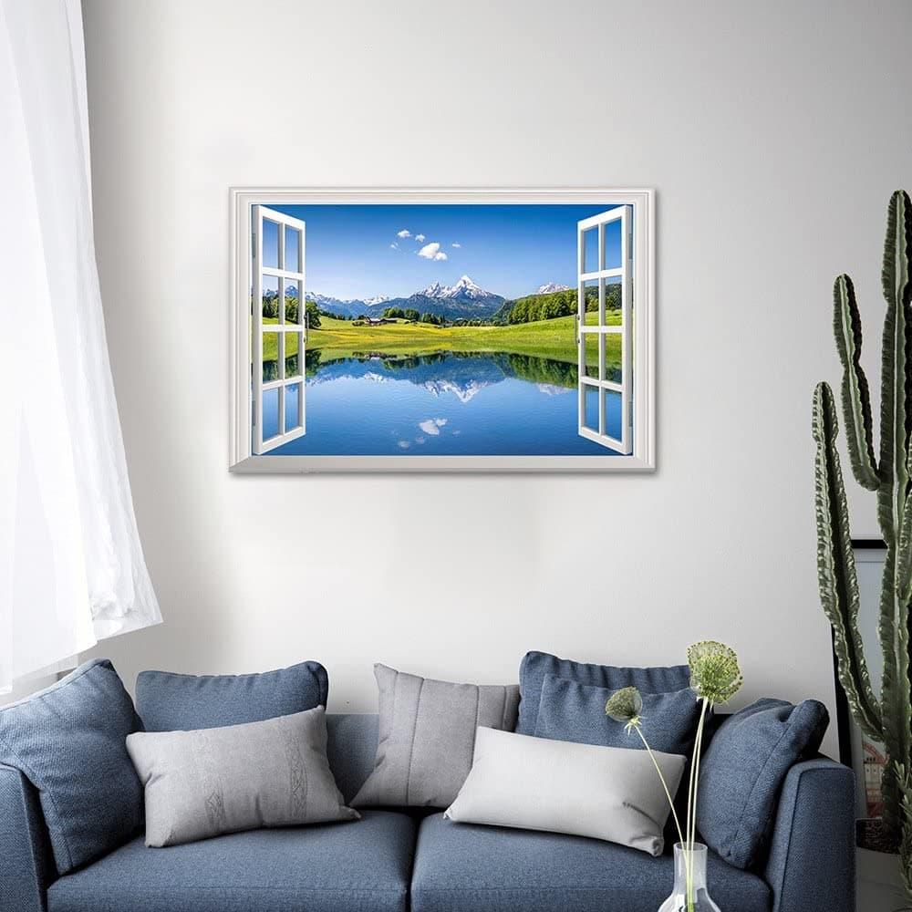 3d wall sticker of a window