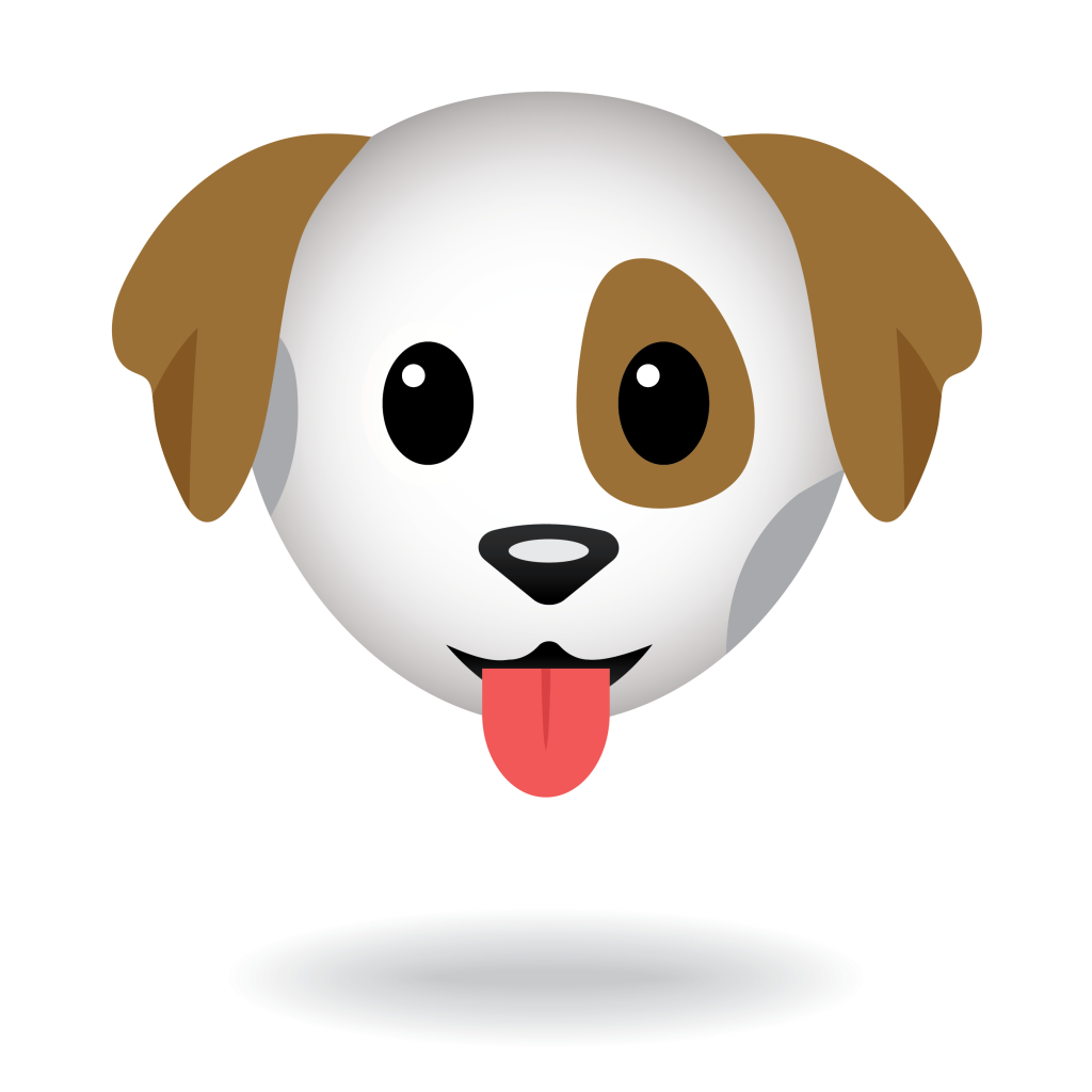 Dog Face Emoji - Define Awesome