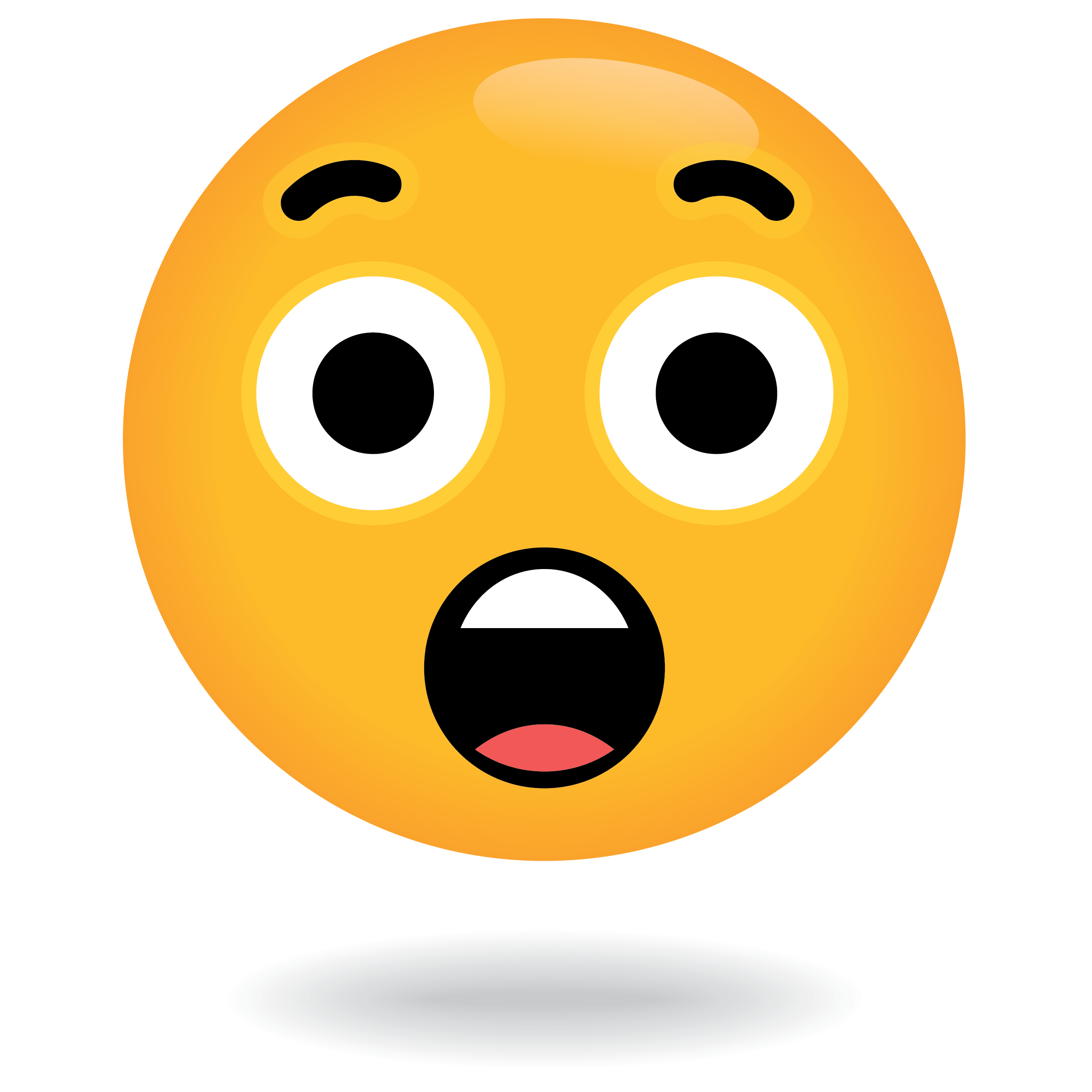 Surprised Emoji by Define Awesome