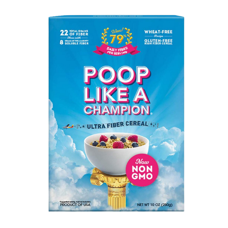 cereal to help you poop like a champion