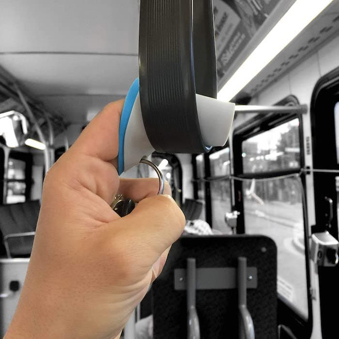Finger Covers for public transportation germ prevention