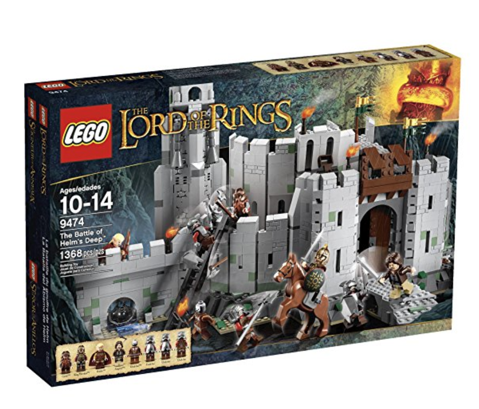Battle of Helm's Deep Lego Set