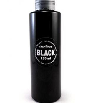 Artist black paint