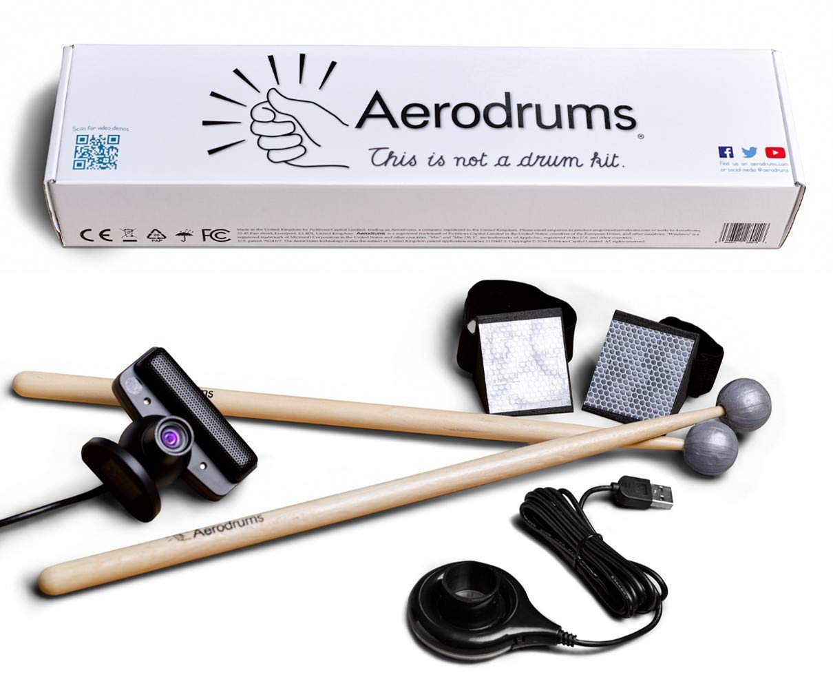 practice drumming air drumming kit