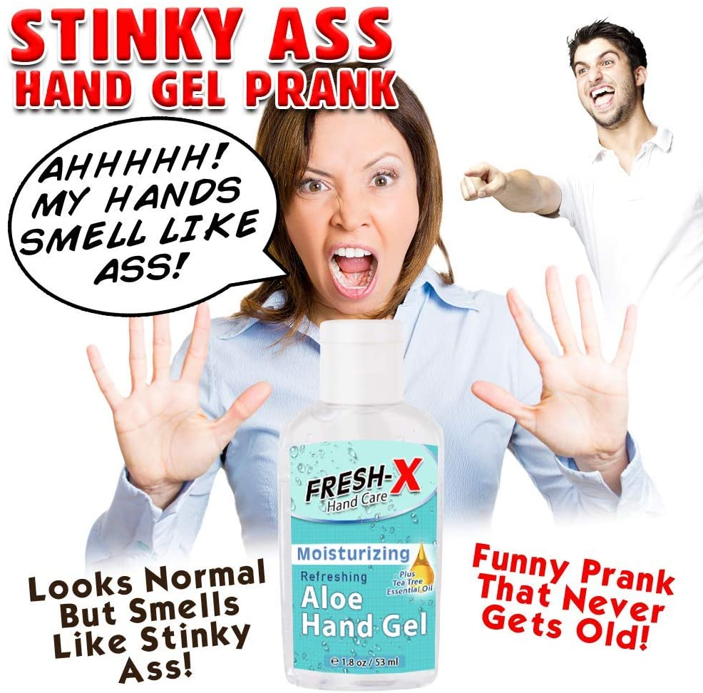 funny scented hand sanitizer