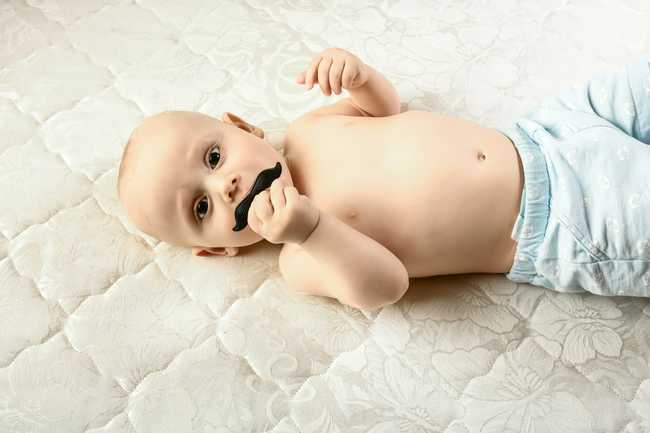 The Mustache Pacifier 1