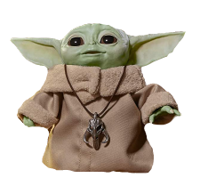 the baby yoda toy