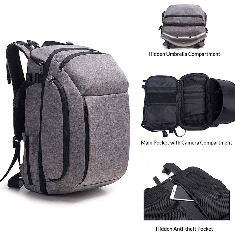 The Retractable Umbrella Backpack 7