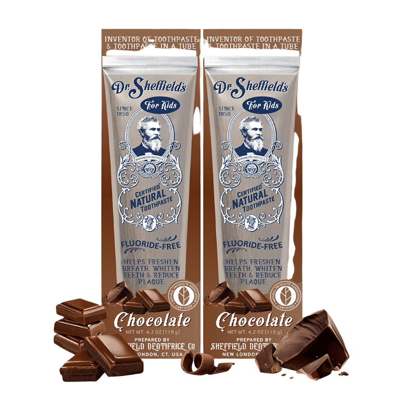 Dr. Sheffield's Certified Natural Chocolate Toothpaste