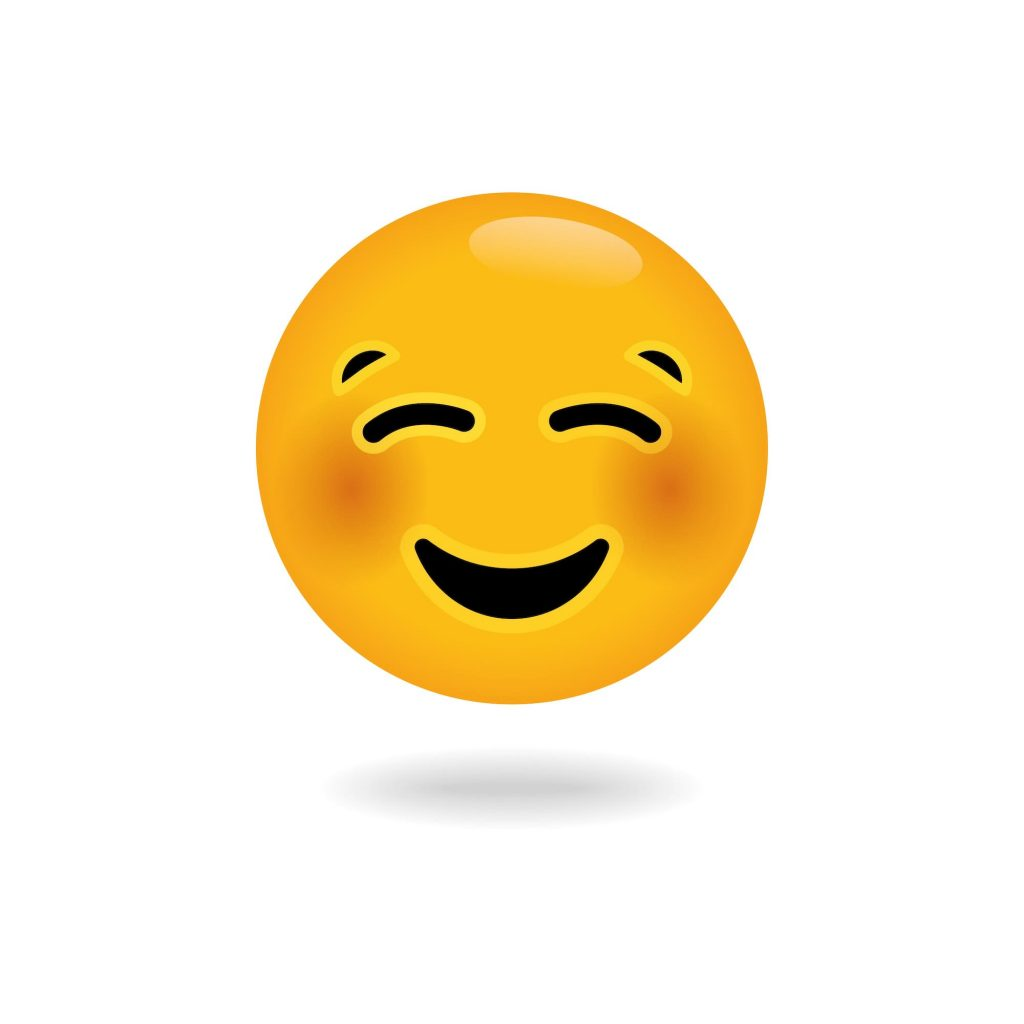 emoji of dale smiling