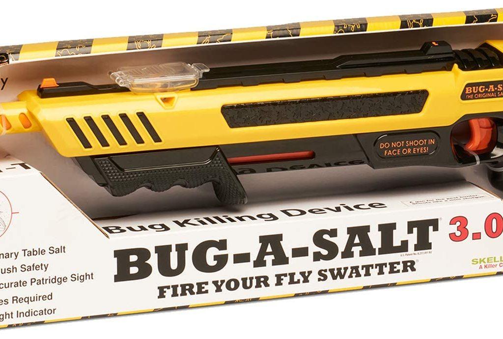 bug gun that shoots salt