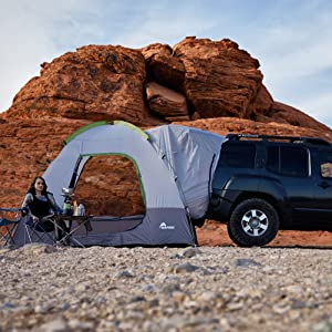 The SUV Tent 2