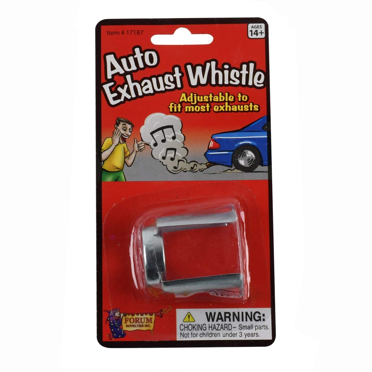 car exhaust whistle prank