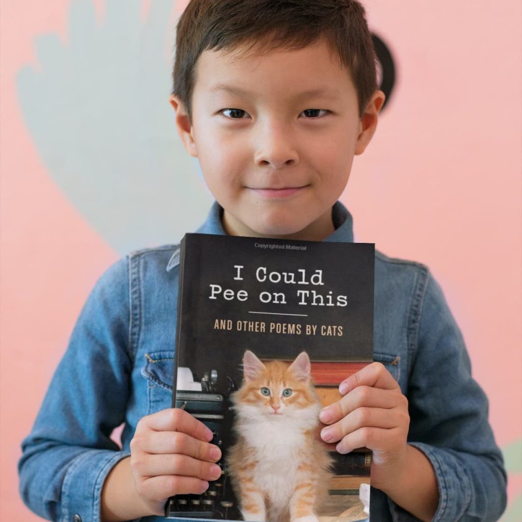 The Book of Cat Poetry, Written by Real Cats | Define Awesome