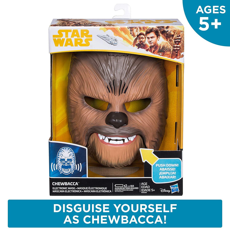Roaring Chewbacca Mask 8