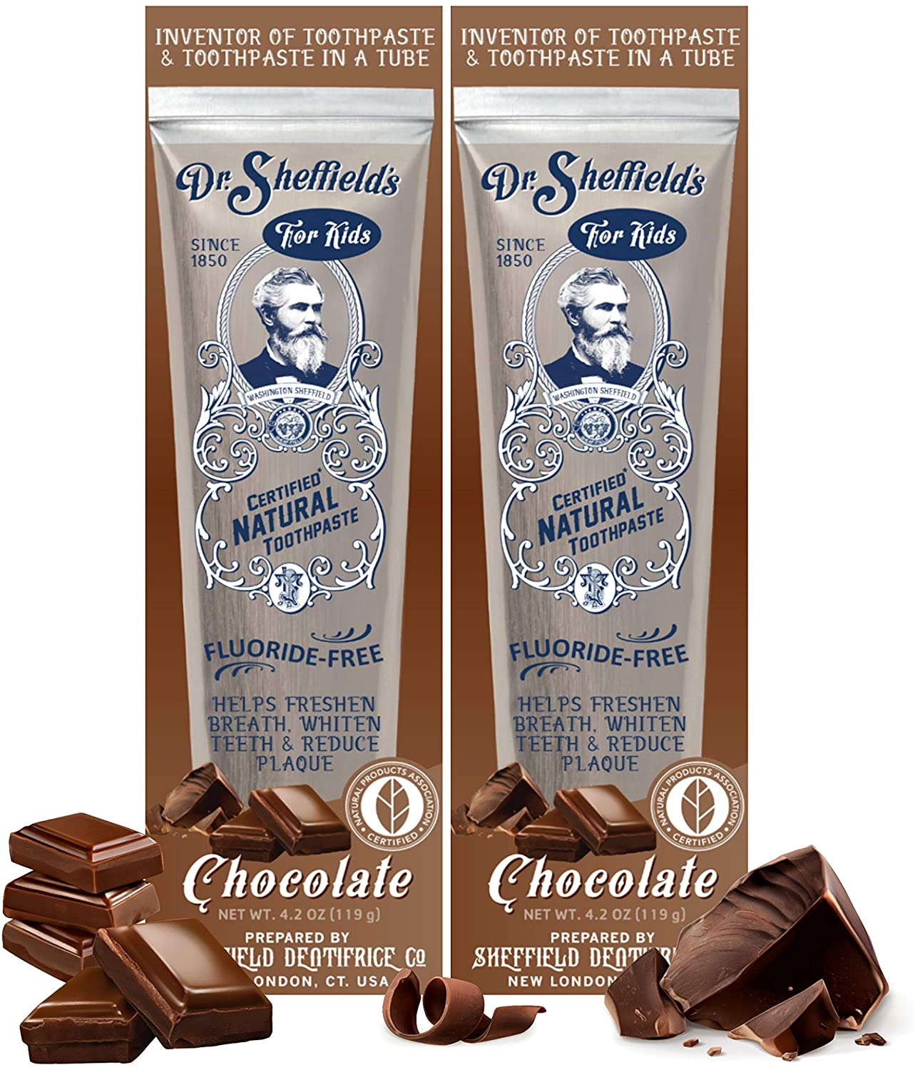 great chocolate toothpaste