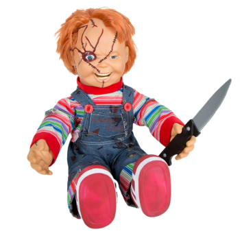 scary talking chucky doll