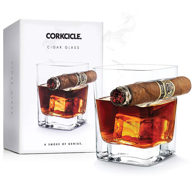 the cigar glass