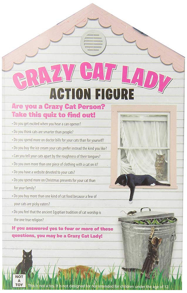 The Crazy Cat Lady Action Figure 18