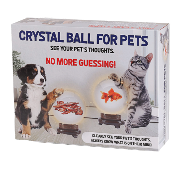 magic crystal ball for dogs and cats