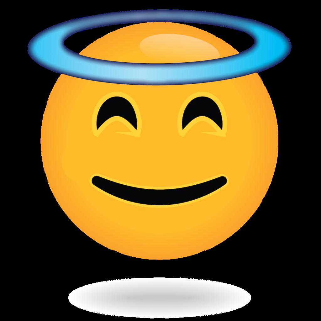 angel emoji by define awesome