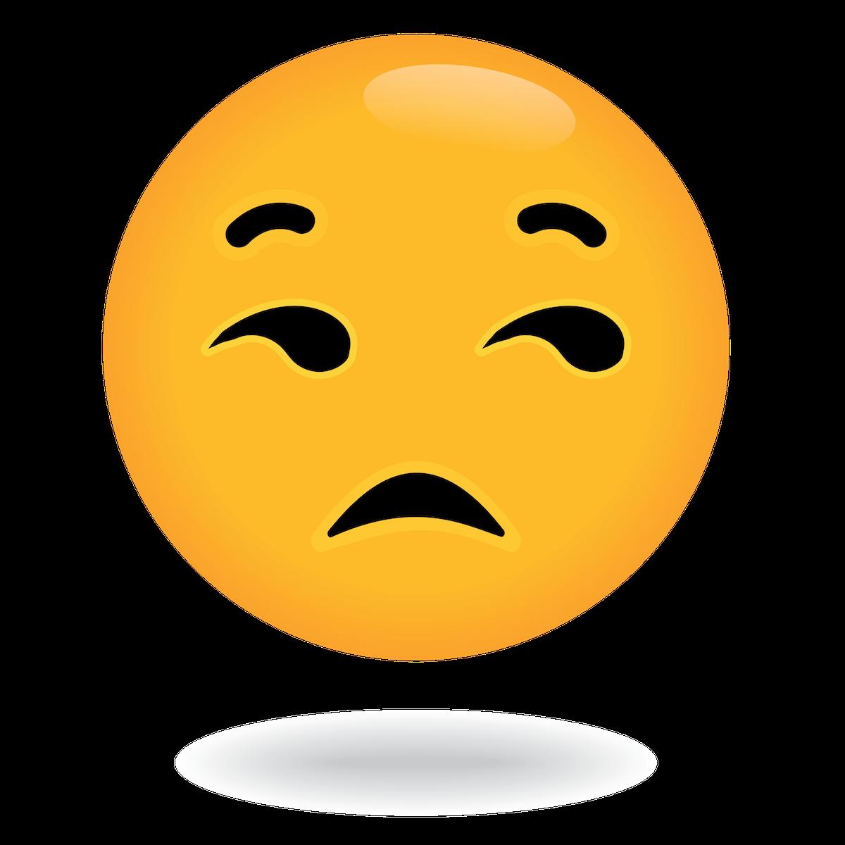 meh emoji by define awesome