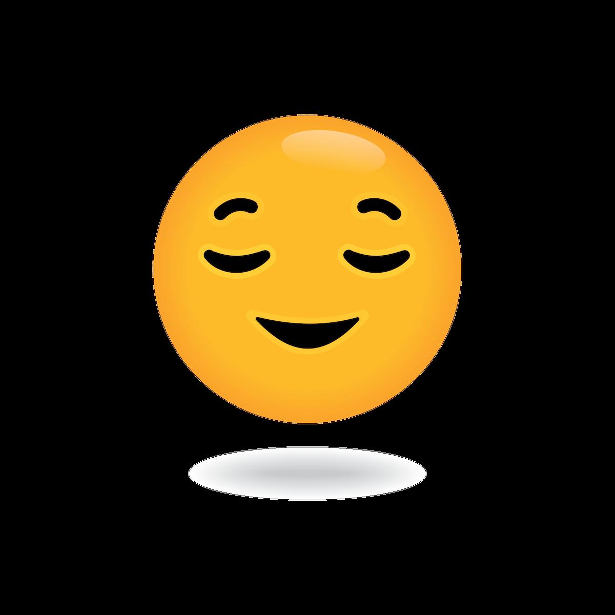 relax emoji by define awesome