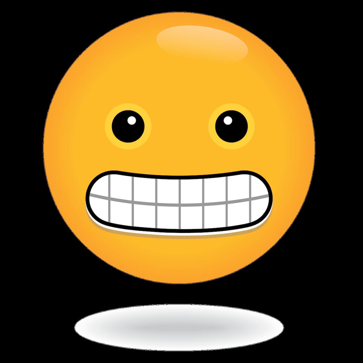 teeth emoji by define awesome