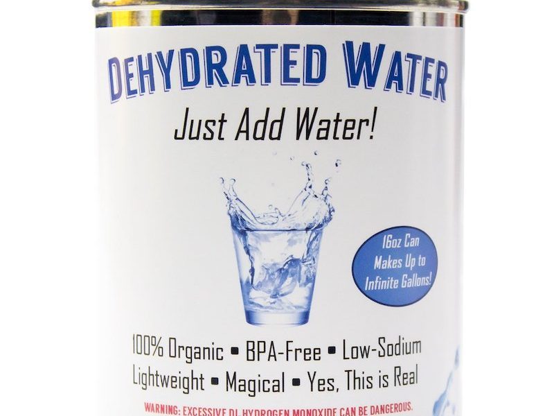 Dehydrated Water 12
