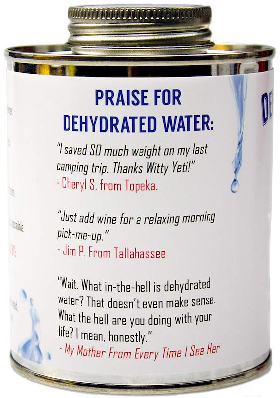 Dehydrated Water 11