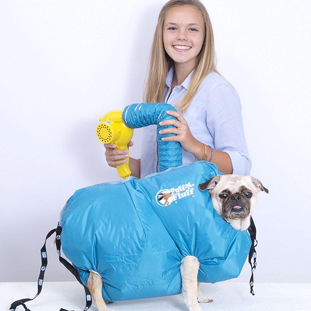 The Puff-n-Fluff Dog Dryer