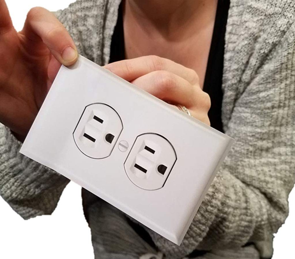 Fake Electrical Wall Outlet Stickers Prank – Pack of 12