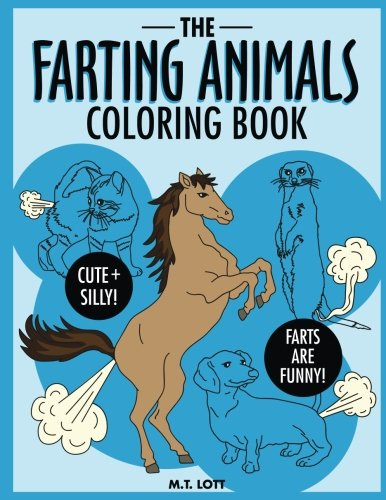 animals farting coloring book