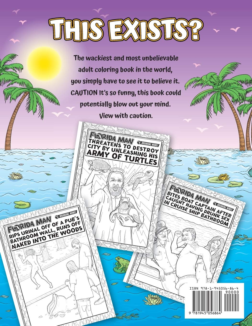 The Florida Man Coloring Book