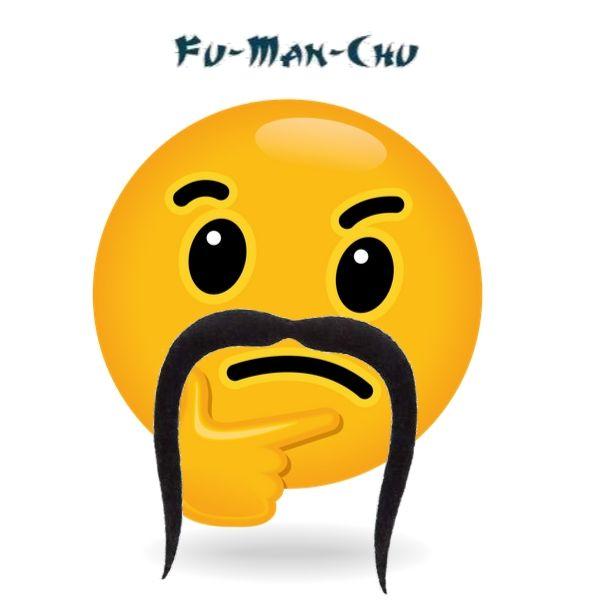 fu man chu manly mustache
