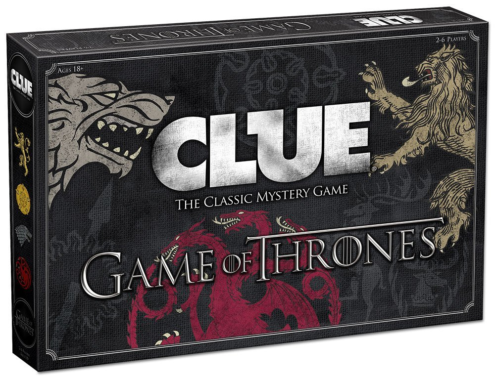 clue game game of thrones addition