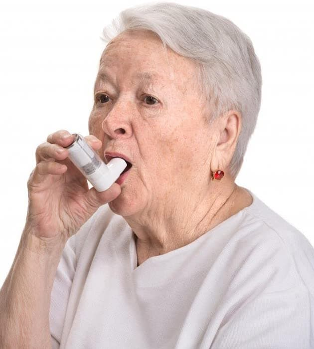 The Old Woman With an Inhaler Wall Sticker 2