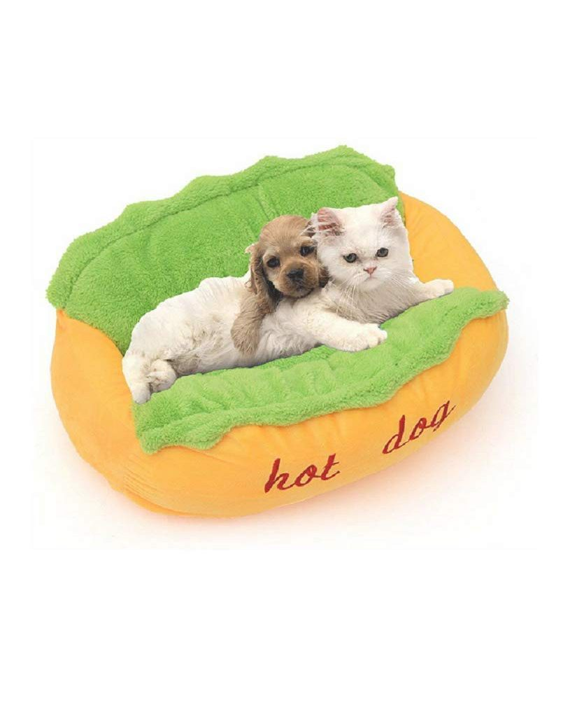 Hot Dog Pet Bed 1