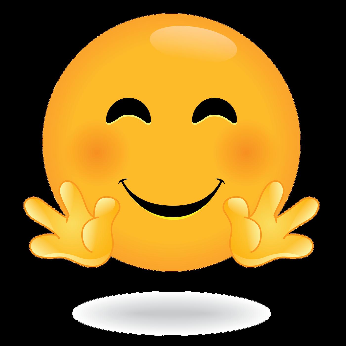 Define Awesome Hug Emoji