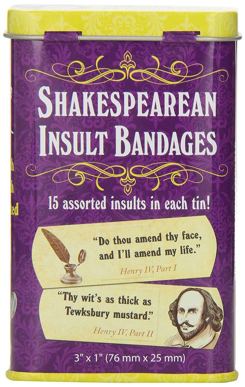 Shakespearean Insult Bandaids 3