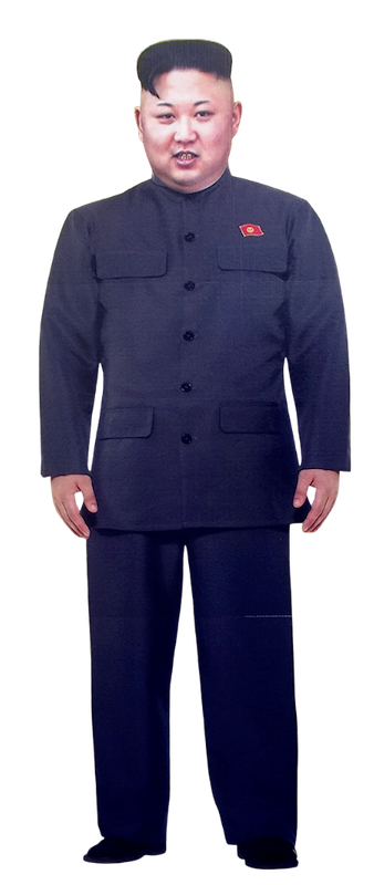 The Life-Size Kim Jong Un 8