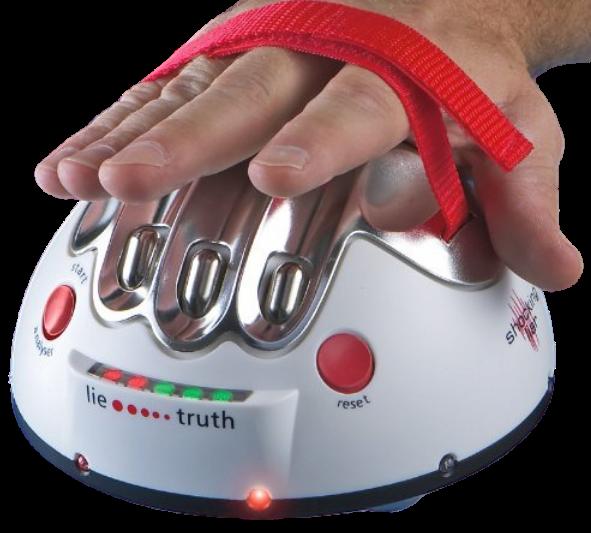 Hand Shocking Lie Detector 2