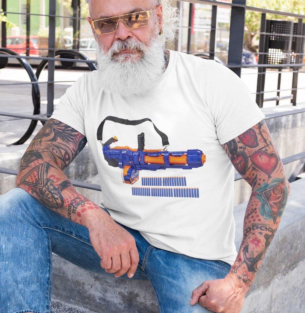 nerf minigun review from bill, a Florida man