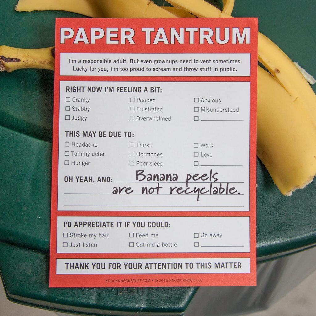 Paper Tantrum Notes 2