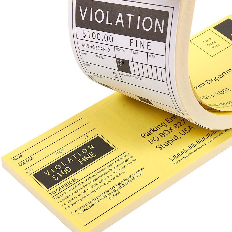 Fake Parking Tickets Prank 10