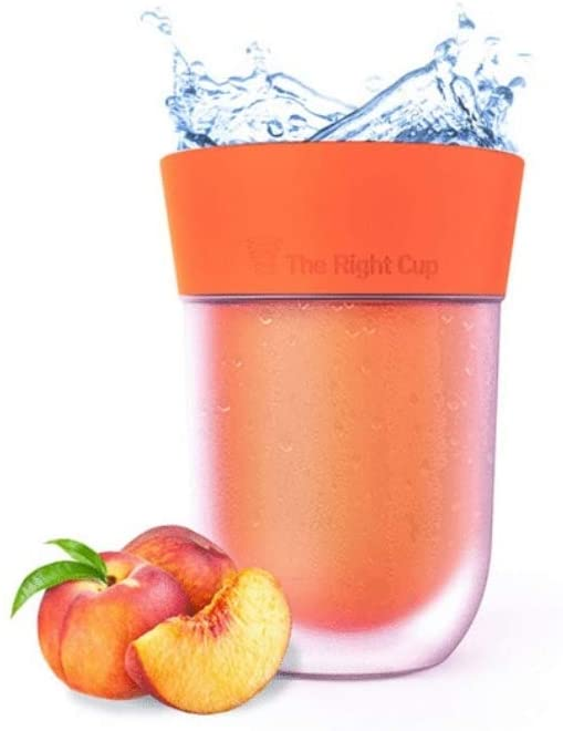 peach water flavor in cup